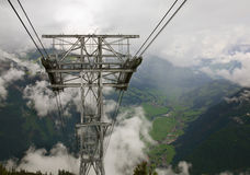 Ziller valley near Mayrhofen . Austria Royalty Free Stock Image