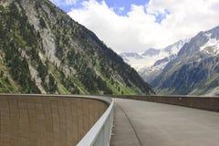 Zillergründl Dam and Trogwand, Austria Stock Photos