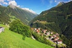 Zillertal, Österreich Lizenzfreies Stockbild