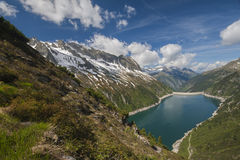 Zillertal, Alpen, Österreich Lizenzfreie Stockbilder