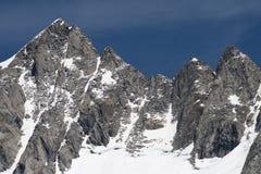 Zillertal, alpi, Austria Fotografia Stock Libera da Diritti
