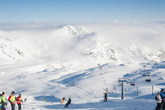 Zillertal Arena Royalty Free Stock Images