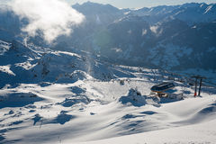 Zillertal Arena Stock Photography