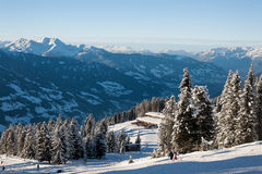 Zillertal Arena Royalty Free Stock Photography