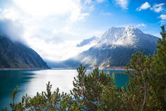 Zillertal in Austria. Landscapes in the Zillertaler Alps in Austria Royalty Free Stock Photography