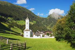Zillertal, Austrian Alps Stock Photography