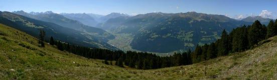 Zillertal in estate Immagine Stock Libera da Diritti