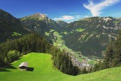 Zillertal, montañas austríacas Fotografía de archivo