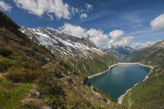 Zillertal, montañas, Austria Imágenes de archivo libres de regalías