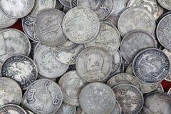Zilver stock foto