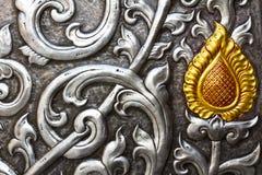 Zilver en goud Stock Foto's