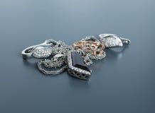 Zilver en goud Royalty-vrije Stock Fotografie