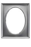 Zilver geplateerd fotoframe Royalty-vrije Stock Afbeeldingen
