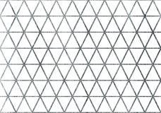 Zilver geschilderd patroon Stock Foto