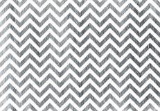 Zilver geschilderde strepenachtergrond, chevron Stock Afbeelding