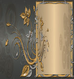 Zilver met goud Royalty-vrije Stock Foto