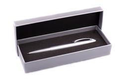 Zilverachtig potlood royalty-vrije stock afbeelding