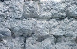 Zilverachtige concrete muur van het oude gebouw royalty-vrije stock afbeelding