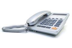 Zilverachtige telefoon Royalty-vrije Stock Foto's