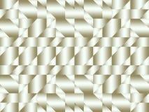 Zilveren abstract geometrisch patroon Royalty-vrije Stock Afbeeldingen