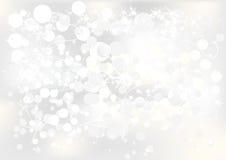Zilveren Achtergrond voor kaarten Royalty-vrije Stock Afbeelding