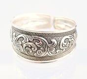 Zilveren armband royalty-vrije stock afbeeldingen