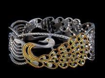 zilveren Armbanden Stock Fotografie