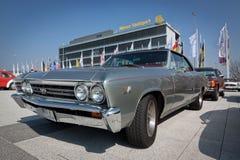 Zilveren Auto Royalty-vrije Stock Afbeelding