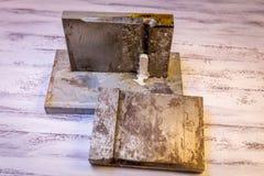 Zilveren baar Stock Afbeeldingen