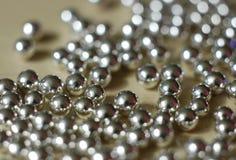 Zilveren ballen 2 Royalty-vrije Stock Foto