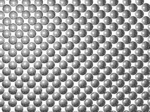 Zilveren ballenachtergrond Stock Afbeeldingen