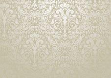 Zilveren Behang Royalty-vrije Stock Fotografie