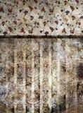 Zilveren behang Stock Fotografie