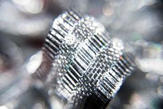 Zilveren boog Royalty-vrije Stock Foto's