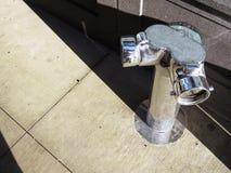 Zilveren brandkraan Stock Afbeeldingen