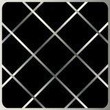 Zilveren cellen abstracte vector als achtergrond Royalty-vrije Stock Foto
