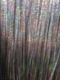 Zilveren de boomdecoratie van hologramkerstmis Royalty-vrije Stock Afbeelding