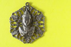 Zilveren de Tegenhangerjuweel van Boedha Royalty-vrije Stock Afbeelding
