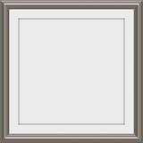 zilveren de toekenningsframe van het Metaal Royalty-vrije Stock Afbeeldingen