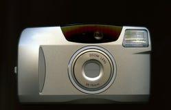 Zilveren digitale camera Royalty-vrije Stock Afbeeldingen