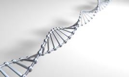 Zilveren DNA Stock Afbeeldingen