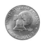 Zilveren dollar Stock Afbeeldingen