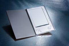 Zilveren ebook royalty-vrije stock foto