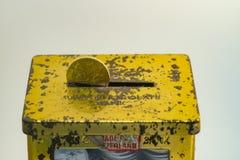 Zilveren en gouden kleur van Maleise muntstukken Stock Fotografie