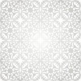 Zilveren en Witte Abstracte Achtergrond Royalty-vrije Stock Foto
