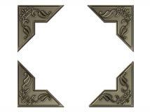 Zilveren fotoconners Royalty-vrije Stock Foto's