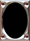 Zilveren frame Stock Foto's