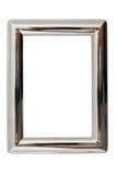 Zilveren Frame stock fotografie