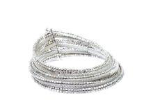 Zilveren Halsband Royalty-vrije Stock Afbeeldingen