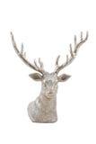 Zilveren herten Stock Afbeelding
